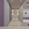 спальное место в гостиной комнате