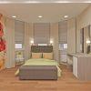 дизайн спальни в бежевом цвете