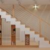 функциональное решения места под лестницей