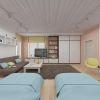 дизайн интерьера гостевой комнаты в коттедже