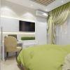 Дизайн интерьера спальной комнаты, рабочая зона в спальне