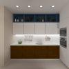 дизайн интерьера кухни, ниша в интерьере, дизайн кухонного гарнитура, кухонный гарнитур в современном стиле
