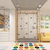 дизайн интерьера детской, детская в скандинавском стиле, детская для мальчика, интерьер детской комнаты, спортивный уголок в детской, встроенная мебель в интерьере