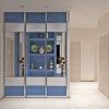 дизайн коридора, дизайн коридора в современном стиле, шкаф-купе в интерьере, встроенная мебель в интерьере