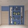 дизайн коридора, дизайн коридора в современном стиле, ниши в интерьере