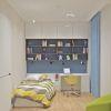 дизайн интерьера детской комнаты, интерьер детской для мальчика, дизайн интерьера подростковой комнаты, рабочий стол в детской, рабочая зона в детской комнате