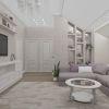 дизайн интерьера гостиной, интерьер гостиной в классическом стиле, 3д панели, ниша в интерьере
