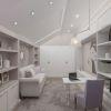 дизайн интерьера кабинета, интерьер кабинета в классическом стиле,