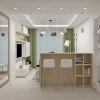 дизайн интерьера гостиной, интерьер в экостиле, зона тв, дизайн гостиной в современном стиле, корпусная мебель в интерьере, барная стойка,
