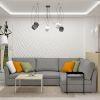 дизайн интерьера гостиной, интерьер в экостиле, зона тв, дизайн гостиной в современном стиле, корпусная мебель в интерьере, зонирование пространства гостиной, светодизайн