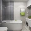 дизайн интерьера ванной, интерьер санузла, плитка керама марацци в интерьере.