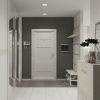 дизайн интерьера коридора, шкаф-купе в коридоре, корпусная мебель в интерьере, интерьер коридора в современном стиле.