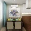 дизайн кухни-гостиной, дизайн интерьера кухни, интерьер кухни в современном стиле, интерьер гостиной в современном стиле