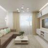 дизайн интерьера гостиной, дизайн гостиной, интерьер гостиной в современном стиле, 3д панели, дизайн-проект гостиной