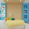 дизайн деткой, дизайн интерьера детской комнаты, интерьер детской для мальчика, детская комната для 2 мальчиков, интерьер комнаты для подростка, декоративные рейки, корпусная мебель, встроенная мебель
