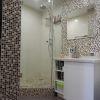 дизайн ванной, интерьер ванной комнаты, дизайн интерьера ванной, интерьер санузла, мозаика, душевая кабина