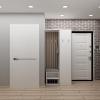 дизайн интерьера коридора, современный дизайн интерьера, современный дизайн коридора, интерьер коридора, дизайн-проект коридора, корпусная мебель в интерьере, дизайн коридора.