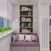 дизайн интерьера спальни, интерьер спальни, дизайн спальни, дизайн-проект спальни, дизайн комнаты для девушки, интерьер подростковой комнаты, корпусная мебель под заказ, корпусная мебель в интерьере, рабочее место на лоджии, дизайн лоджии.