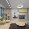 Дизайн интерьера гостиной комнаты. Зонирование пространства в гостиной.