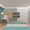 Дизайн-проект спальни. Дизайн корпусной мебели в интерьере.