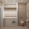 Дизайн интерьера туалета.