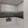 дизайн интерьера кухни, интерьер кухни в современном стиле, дизайн кухни-гостиной, корпусная мебель в интерьере, современная кухня