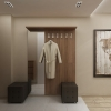 дизайн коридора, интерьер коридора, дизайн коридора в современном стиле, дизайн прихожей, дизайн-проект коридора, корпусная мебель в интерьере