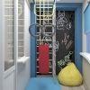 дизайн интерьера лоджии, игровая зона, фотопечать в интерьере,грифельная доска, спортивный уголок.