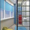 дизайн интерьера лоджии, игровая зона, фотопечать в интерьере,грифельная доска, спортивный уголок
