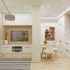 дизайн интерьера гостиной, интерьер гостиной в современном стиле, дизайн-проект гостиной, 3д панели в интерьере, дизайн однокомнатной квартиры, дизайн зоны тв, корпусная мебель в интерьере.
