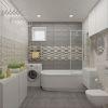 дизайн интерьера ванной, интерьер ванной комнаты, дизайн-проект ванной, плитка Lasselsberger CeramicsLasselsberger Ceramics ФИОРИ ГРИДЖО.