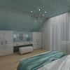 панели Jilda в интерьере спальни