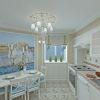дизайн интерьера кухни - столовой