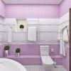 раскладка плитки в ванной комнате