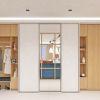 дизайн интерьера коридора, корпусная мебель в интерьере прихожей, дизайн шкафа-купе, встроенная мебель в интерьере.