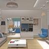 дизайн гостиной, дизайн гостиной в современном стиле, зона тв, корпусная мебель в интерьере, дизайн корпусной мебели