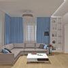 дизайн гостиной, дизайн гостиной в современном стиле, угловой диван в интерьере, природные цвета в интерьере
