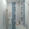 дизайн ванной комнаты, интерьер ванной, дизайн в санузле