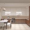 дизайн интерьера кухни-столовой, дизайн столовой зоны, интерьер обеденной зоны, дизайн корпусной мебели, корпусная мебель в интерьере