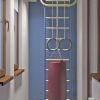 дизайн лоджии, игровая комнат на лоджии, спортивный уголок в детской комнате