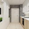 дизайн интерьера кухни, кухня в современном стиле, встроенная техника в интерьере, дизайн кухни, современная встроенная кухня, корпусная мебель в интерьере