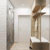 дизайн интерьера коридора, современный интерьер коридора, корпусная мебель в интерьере