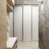 дизайн интерьера коридора, современный интерьер коридора, корпусная мебель в интерьере, шкаф-купе