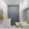 дизайн интерьера санузла, дизайн интерьера ванны, интерьер ванной комнаты, дизайн интерьера туалета, плитка керама марацци