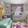 дизайн детской, интерьер детской, детская для девочки, дизайн интерьера детской комнаты