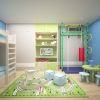 дизайн детской, интерьер детской, детская для мальчика, дизайн интерьера детской комнаты