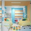 дизайн деткой, дизайн интерьера детской комнаты, интерьер детской для мальчика, детская комната для 2 мальчиков, интерьер комнаты для подростка, декоративные рейки, корпусная мебель, встроенная мебель, шкаф-купе