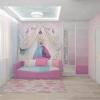 дизайн детской, интерьер детской комнаты, дизайн детской для девочки, современная детская, детская комната.