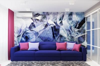 интерьер гостиной, дизайн гостиной, проект гостиной, фотопечать в интерьере, современный дизайн интерьера, интерьер в современном стиле.