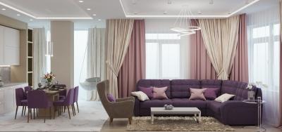 дизайн интерьера гостиной, интерьер гостиной, дизайн кухни-гостиной, объединенная кухня-гостиная